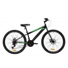 "Велосипед ST 26"" Discovery ATTACK DD 2020 (чорно-зелений з сірим)"