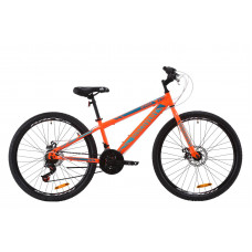 """Велосипед ST 26"""" Discovery ATTACK DD 2020 (помаранчево-бірюзовий)"""