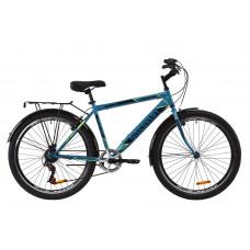 """Велосипед ST 26"""" Discovery PRESTIGE MAN Vbr з багажником зад St, з крилом St (малахітовий з жовтим)"""