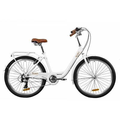 """Велосипед 26"""" Dorozhnik RUBY (білий)"""
