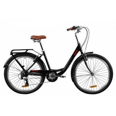 """Велосипед 26"""" Dorozhnik RUBY (черный)"""