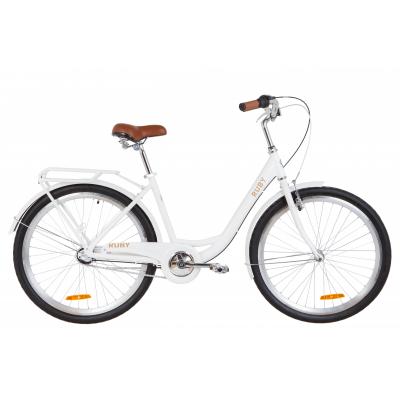 """Велосипед 26"""" Dorozhnik RUBY планет. 2020 (белый)"""