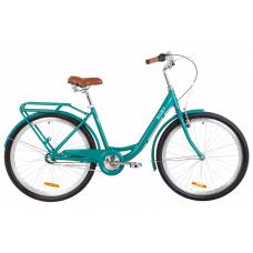 """Велосипед 26"""" Dorozhnik RUBY планет. 2020 (изумрудный)"""