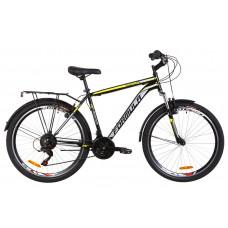 """Велосипед 26"""" Formula MAGNUM AM 14G Vbr St с багажником зад St, с крылом St 2020 (черно-желтый)"""