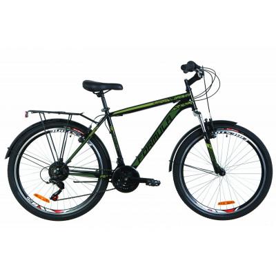 """Велосипед 26"""" Formula MAGNUM AM 14G Vbr St с багажником зад St, с крылом St (черный)"""