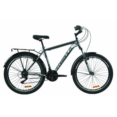 """Велосипед 26"""" Formula MAGNUM 2020 (сіро-чорний)"""