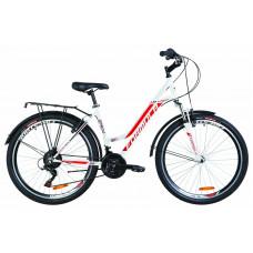 """Велосипед 26"""" Formula OMEGA AM 14G Vbr St с багажником зад St, с крылом St (белый)"""