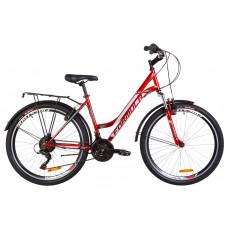 """Велосипед 26"""" Formula OMEGA AM 14G Vbr St с багажником зад St, с крылом St (красный)"""