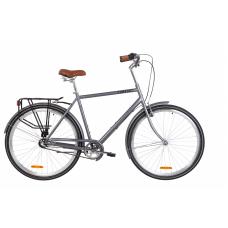 """Велосипед 28"""" Dorozhnik COMFORT MALE планет. (сірий)"""