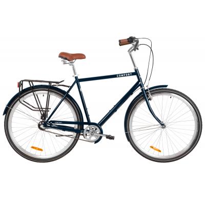 "Велосипед 28"" Dorozhnik COMFORT MALE планет. (синій)"
