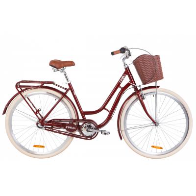 """Велосипед 28"""" Dorozhnik CORAL планет. 2020 (рубіновий)"""