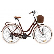 """Велосипед 28"""" Dorozhnik CORAL (рубіновий)"""