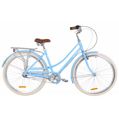 """Велосипед 28"""" Dorozhnik SAPPHIRE планет. 2020 (альпійський блакитний)"""