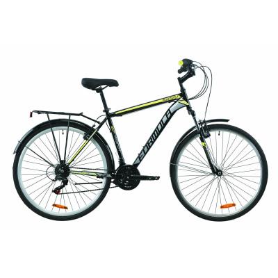 """Велосипед 28"""" Formula MAGNUM (чорно-сірий з жовтим)"""