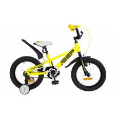 """Велосипед 16"""" Formula JEEP 14G St с крылом Pl 2018 (желтый)"""