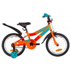 """Велосипед 16"""" Formula RACE посилен. St з крилом Pl 2019 (помаранчево-бірюзовий)"""