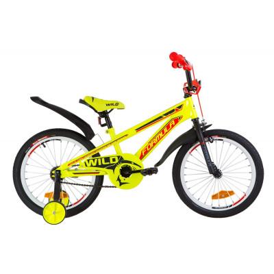 "Велосипед 18"" Formula WILD посилен. St з крилом Pl 2019 (жовто-помаранчевий)"