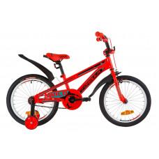 """Велосипед 18"""" Formula WILD посилен. St з крилом Pl 2019 (червоно-бірюзовий)"""