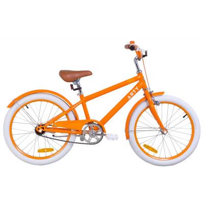"""Велосипед 20"""" Dorozhnik ARTY 14G St з крилом St 2019 (помаранчевий)"""
