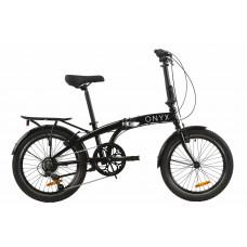 """Велосипед 20"""" Dorozhnik ONYX складаний (чорний)"""