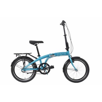 """Велосипед 20"""" Dorozhnik ONYX планет. складаний (синій)"""