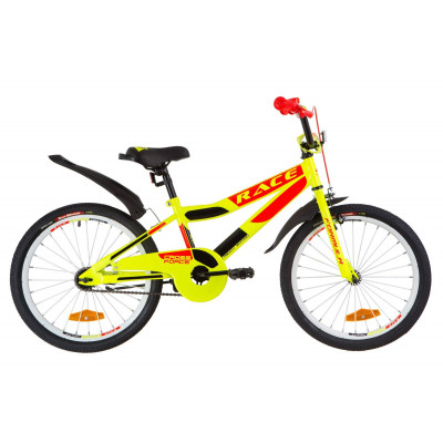 "Велосипед 20"" Formula RACE посилен. St з крилом Pl 2019 (жовто-помаранчевий)"