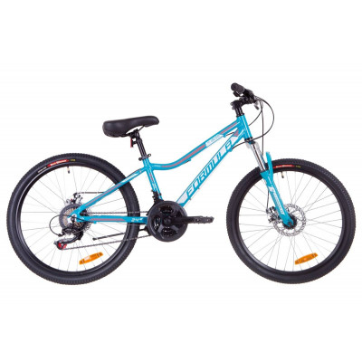 """Велосипед 24"""" Formula ACID 1.0 AM 14G DD Al 2019 (аквамарин)"""