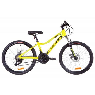 "Велосипед 24"" Formula ACID 2.0 AM 14G DD Al 2019 (жовто-чорний з синім)"