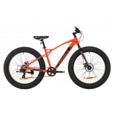 """Велосипед AL 26"""" Formula PALADIN DD 2020 (красно-черный с бирюзовым)"""